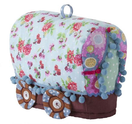 Ulster Weavers Gypsy Caravan Shaped Cotton Tea Cosy